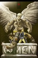 X-Men Cover by Shirtupboy