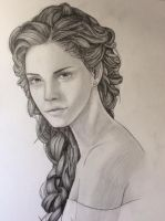 Emma Watson as Belle (Beauty and the Beast) by white-materia