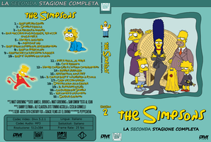 The Simpsons Cover Season 2 by eldivino87