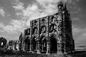 Whitby abbey 2 by The-Travellers-Tale