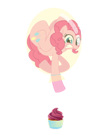 Pinkie balloon by lizziebax