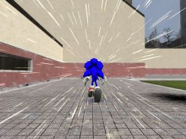 Super Sonic Speed by GlitchyProductions