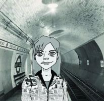 Down in the Underground by diviana