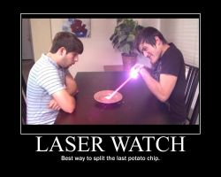 Smosh Laser Watch Motivator by htfman114
