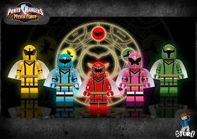Power Rangers Mystic Force by StoryLegos