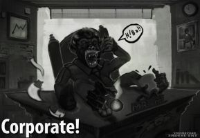 Corporate Monkey by DiceNwn