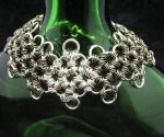 Sterling and Gunmetal Bracelet by andrewk1969