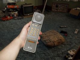 A 1991 Phone by sonyguysghost
