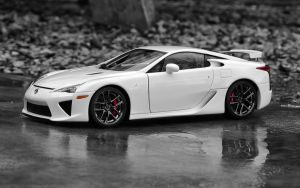 Lexus LFA Black and White 2 by FordGT