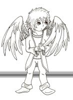 Chibi Comish for Fallen by BaGgY666