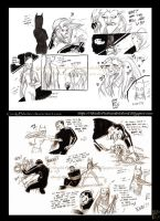 The Batman comics sketches by Giulyblader