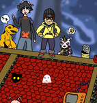 Re:Digitize meets Digimon World by Malfuin