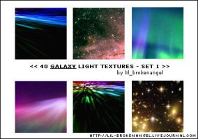 Textures - Galaxy Set 1 by lilbrokenangel