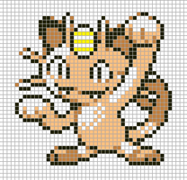 Meowth by Hama-Girl