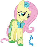 Fluttershy Worried by sistemx