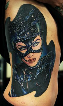 catwoman on ribs by tat2istcecil