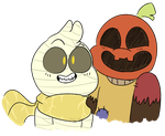 these spoopy nerds by Deer-dog