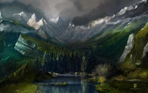 20140707 Landscape by psdeluxe