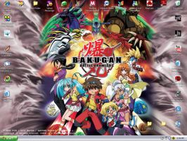 bakugan desktop by revolutionX1600