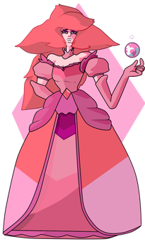 Pink Diamond by MisterYoshiandwatch
