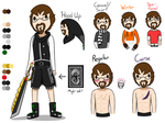 Kenny Reference Sheet by TheGreatWarrior