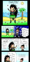 Raditz And Vegeta Parody by Fisukenka