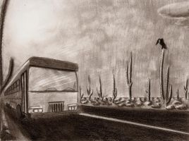 Desert Bus by Ziddius