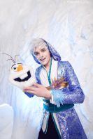 Olaf/Jack Frost - Frozen/Rise of the Guardians by Elanor-Elwyn
