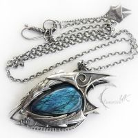 NAHZDURK DRACO ( dragon's eye ) by LUNARIEEN