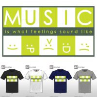 music is what feelings sound like by MohdAzmi
