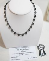 3rd Place Dark Rose necklace by Utinni