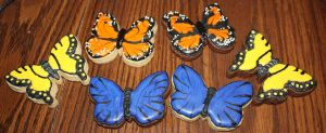 Assorted Butterfly Sugar Cookies by picworth1000wrds