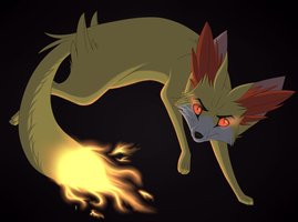 Playing with fire by FigoFox