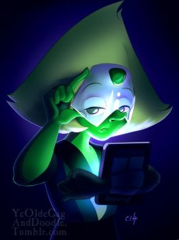 Tablet Peridot by TwoStripTechnicolor