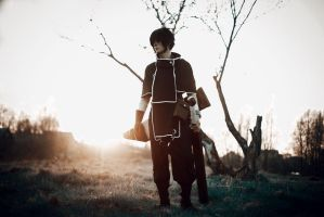 Brave 10 cosplay by GraysonFin