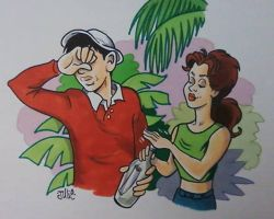 Gilligan and Mary Ann by JulEvo