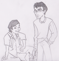 Chang and Duncan by BewitchedCat