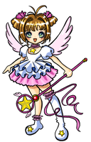 Card Captor Sakura doll by ma-petite-poupee