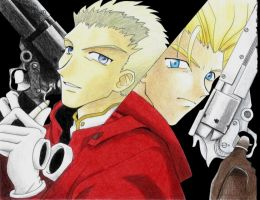 Vash and Knives by Naerko
