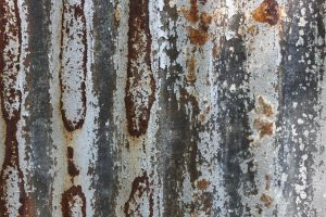 Rusting Painted Metal 2 by element321