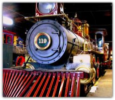 Union Pacific #119 by amordragon