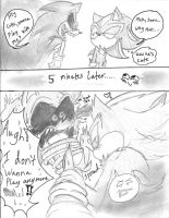 A silly Sonic.exe X Mephalise Comic by SonicMiku