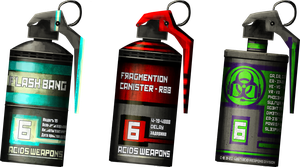 ACIDS Strategic Attack Canisters by Omniance