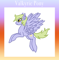 Valkyrie Pony by The-Clockwork-Crow