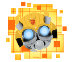 Bug eyes Bumblebee by Doodlz18