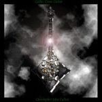 Gothic Cross Guitar by Milambra