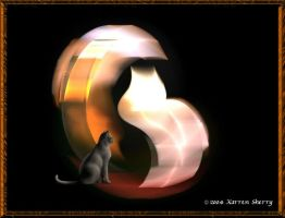 Cat Silhoette by cat-lovers