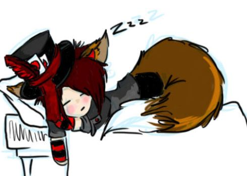 Me Sleeping (cause this is exactly how I fee) by crissangelfreak