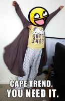 CAPE TREND. YOU NEED IT. by DeathChronic