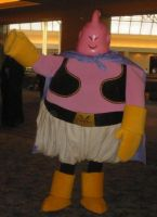 Cosplay Check:Majin Buu by Rhythm-Wily